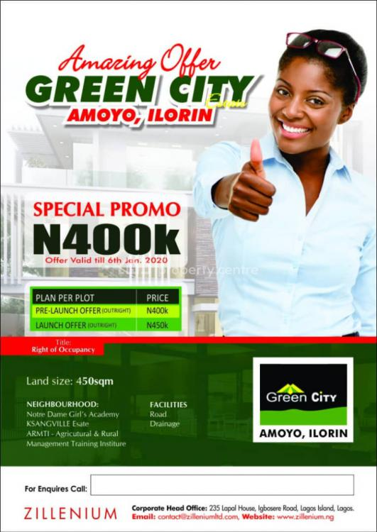 Acres at  Land Available., Amoyo, Ilorin, Ilorin West, Kwara, Residential Land for Sale