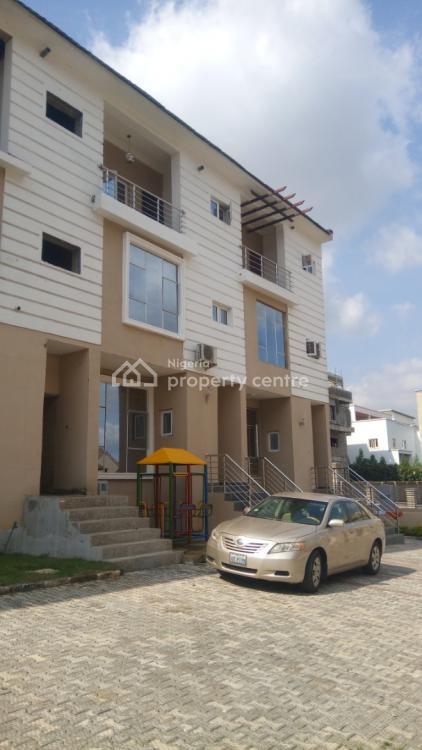 Beautiful 4 Bedrooms Duplex, Guzape District, Abuja, Terraced Duplex for Sale