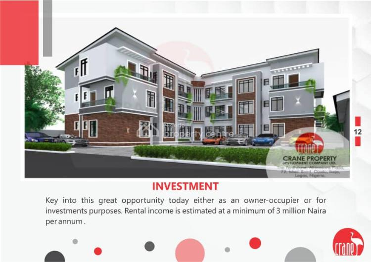 Crane Apartments: 4bedroom Apartment with a Maids Room, Ismail Estate, Onigbongbo, Maryland, Lagos, Flat for Sale