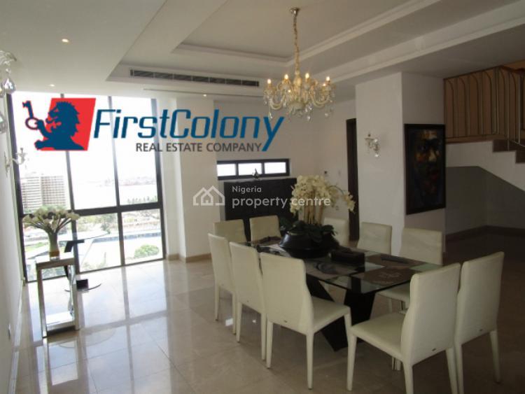 Fully Furnished Upscale 5 Bedroom Pent-floor Maisonette, Off Adeola Odeku Road, Victoria Island (vi), Lagos, Flat for Rent