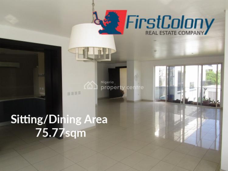 Grandiose 3 Bedroom Apartment with State-of-the-art Facilities, Within Banana Island Estate, Banana Island, Ikoyi, Lagos, Flat for Rent