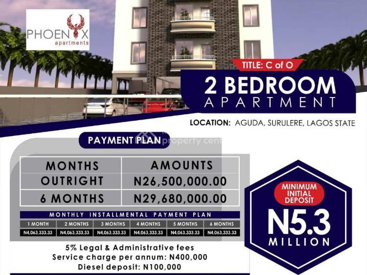 2 Bedroom Apartment, Aguda, Surulere, Lagos, Mini Flat for Sale