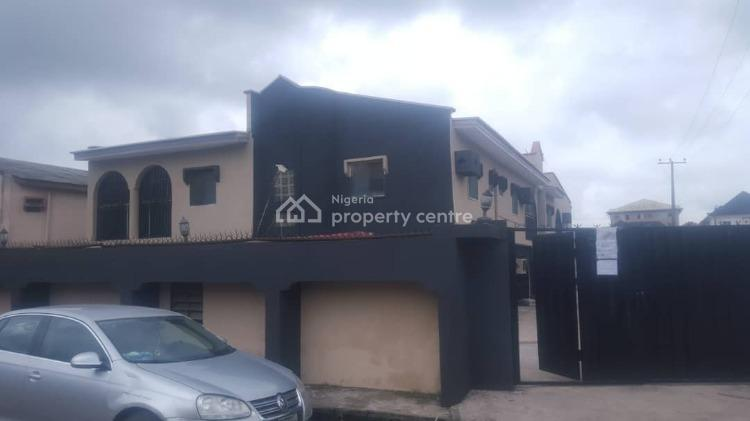 Neatly Used 4 Bedroom Flat Up with 3 Units of 3 Bedroom Flat, Ago Palace, Isolo, Lagos, Block of Flats for Sale