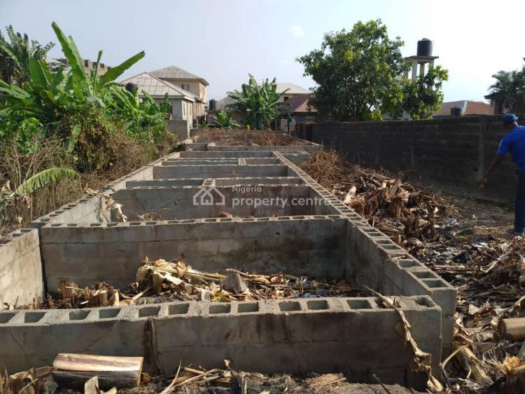 1/2plot of Land with Foundation on It, Ibafo, Kara, Ibafo, Ogun, Residential Land for Sale