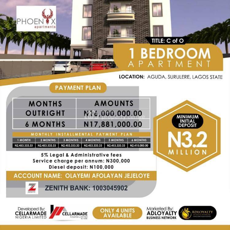 Luxury Mini Flat Now Available, 34, Bolaji Banwo Street, Phoenix Apartments., Aguda, Surulere, Lagos, Mini Flat for Sale