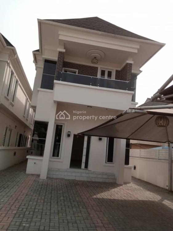 Newly Completed 5 Bedroom Fully Detached Duplex with a Room Bq, Bamide Eletu, Osapa, Lekki, Lagos, Detached Duplex for Rent