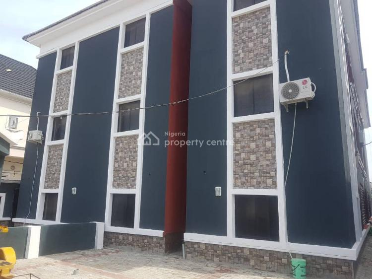 Newly Built Luxury 1 Bedroom. Fully Finished and Fully Serviced (upper Floor), Agungi, Lekki, Lagos, Mini Flat for Rent