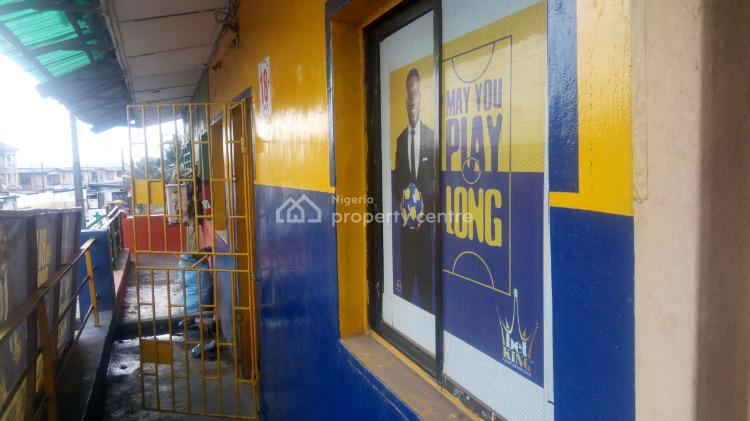 Large Shop (upstairs), Adeyemi Alao, Ogba, Ikeja, Lagos, Shop for Rent