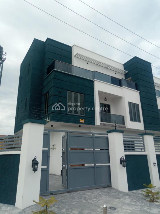 Luxury 2 Units of 5 Bedrooms Semi Detached House with Solar Power, Lekki Phase 1, Lekki, Lagos, Semi-detached Duplex for Sale