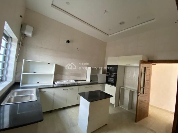 Newly Built 4 Bedroom Semi Detached Duplex with Bq, Chevron, Lekki, Lagos, Semi-detached Duplex for Sale