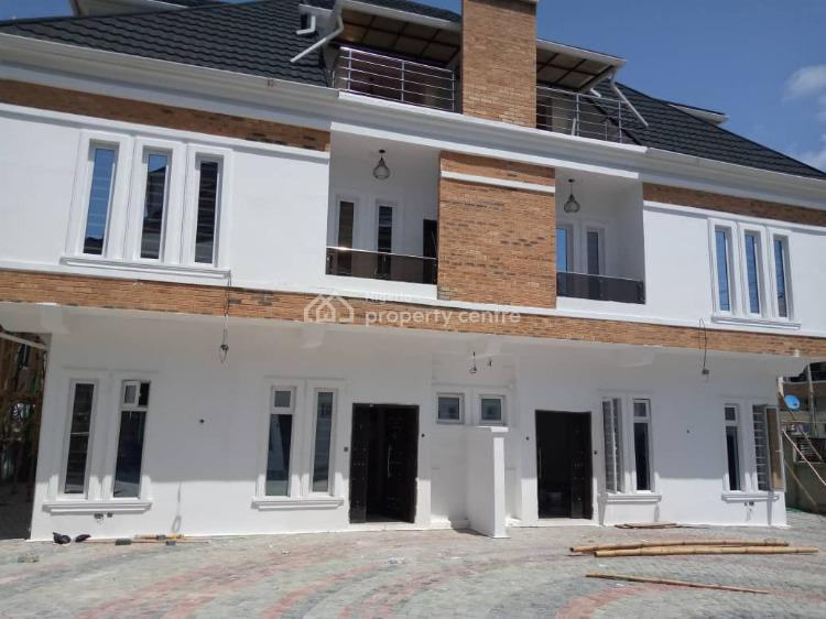 Brand New 4 Bedrooms Semi Detached Duplex with a Bq, Ikota, Lekki, Lagos, Semi-detached Duplex for Rent