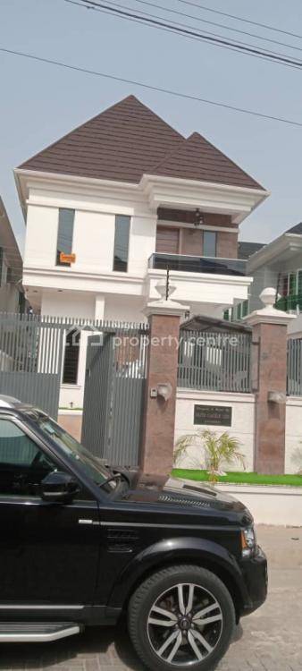 Newly Completed 5 Bedroom Fully Detached Duplex with a Room Bq, Ademola, Osapa, Lekki, Lagos, Detached Duplex for Sale