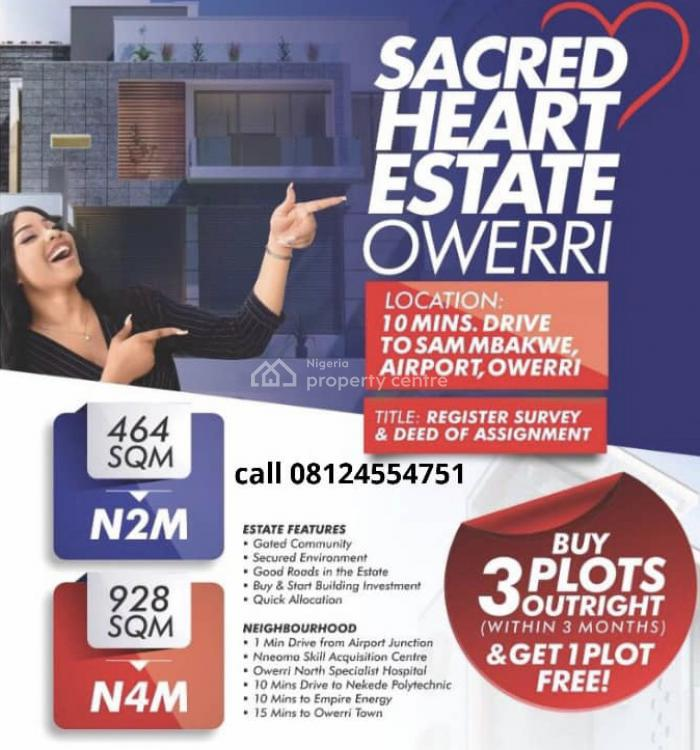 Land Facing The Express, Owerri, Imo, Residential Land for Sale