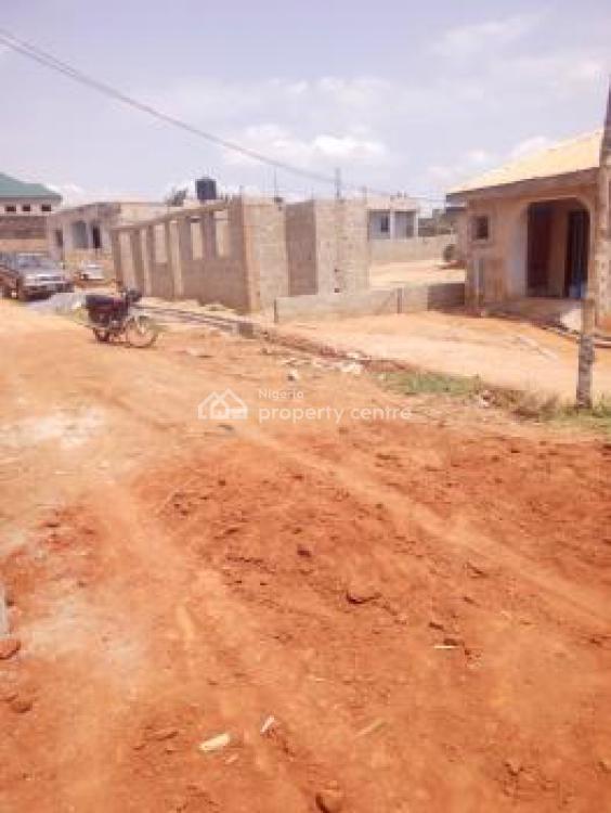 a Mini Flat on Half Plot of Land with 2 Toilet and 1 Bathroom, Brent Field Estate, Oke Afa, Off Lagos Ibadan Express Way., Magboro, Ogun, Mini Flat for Sale