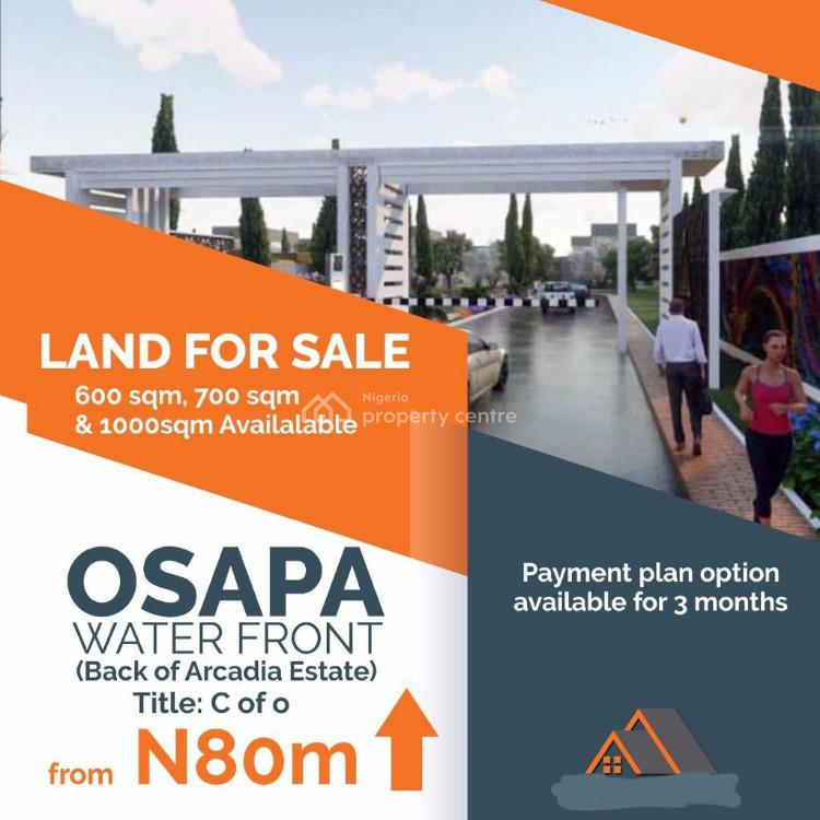 Buy 1000sqm for The Price of 600sqm, Osapa, Lekki, Lagos, Residential Land for Sale