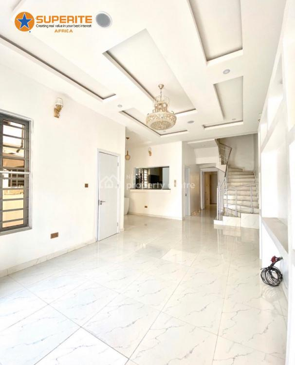 4 Bedroom Semi Detached Duplex with a Bq, Chevron Lekki, Lekki Phase 2, Lekki, Lagos, Semi-detached Duplex for Sale