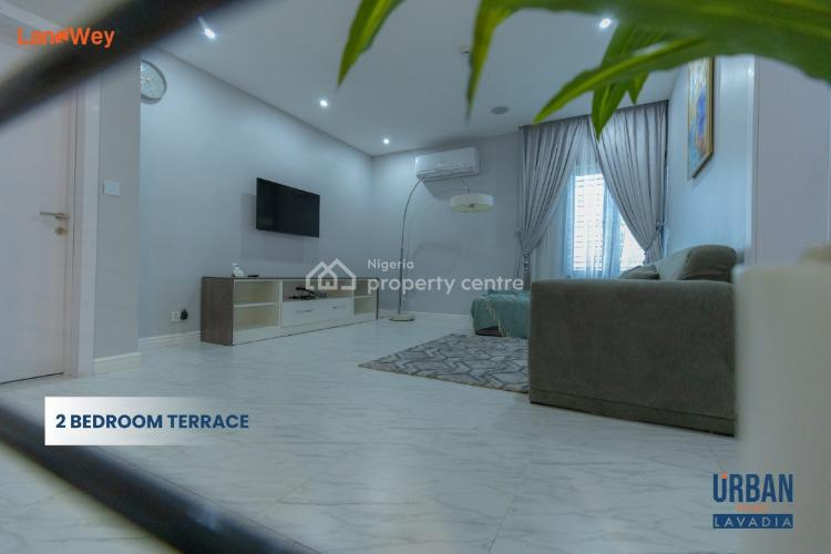 Exqusitely Finished 2 Bedroom Terrace Duplex with Bq in Classic Estate, Off Abraham Adesanya, Ajah, Lagos, Terraced Duplex for Sale