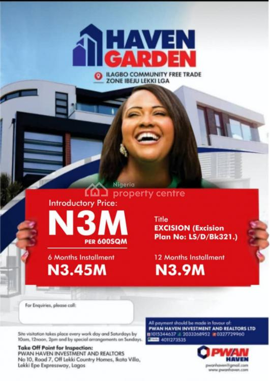 Pwan Haven Want to Make You  a Landlord, Ibeju Lekki, Lagos, Mixed-use Land for Sale