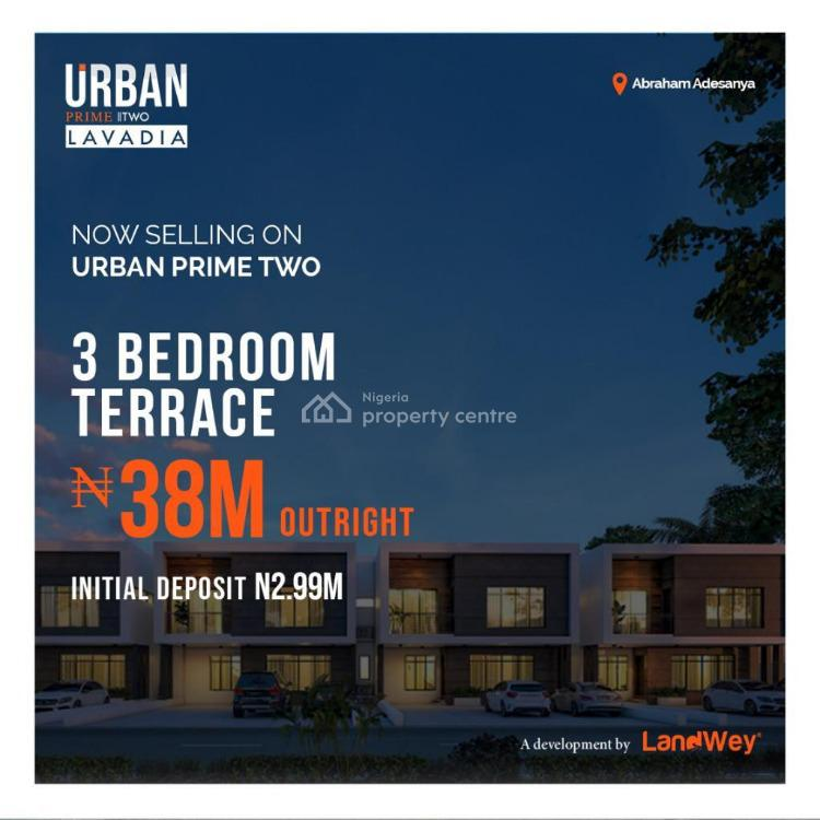 Exquisitely Finished 3 Bedroom Terraced Duplex in a Classic Estate, Abraham Adesanya, Ajah, Lagos, Terraced Duplex for Sale