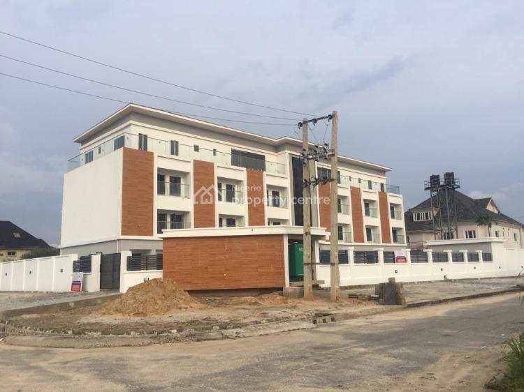 New Four Bedrooms Terrace Duplex, Osborne, Ikoyi, Lagos, Terraced Duplex for Sale