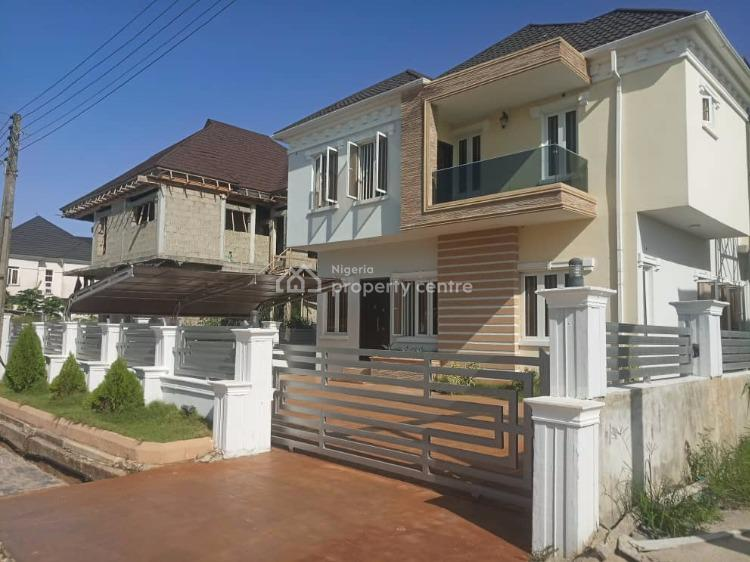 Brand New Luxury 5 Bedroom Detached House with a Maids Room, By Monastry Road, Sangotedo, Ajah, Lagos, Detached Duplex for Sale