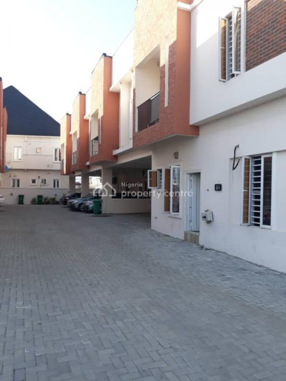 4 Bedroom Terrace Duplex, Orchid Road, 2nd Lekki Toll Gate, Lekki, Lagos, Terraced Duplex for Sale