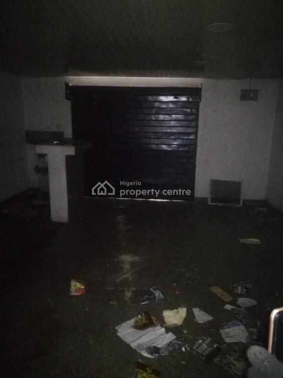 a Large Size Shop with Toilet, Aguda Roundabout, Ogba, Ikeja, Lagos, Shop for Rent