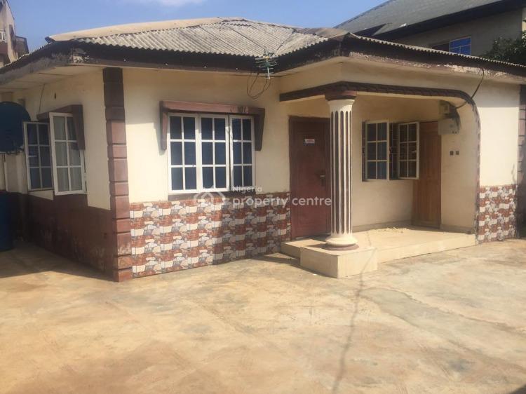 Standard Three Bedroom Bungalow on a Half Plot of Land, Baruwa, Ipaja., Alimosho, Lagos, Detached Bungalow for Sale