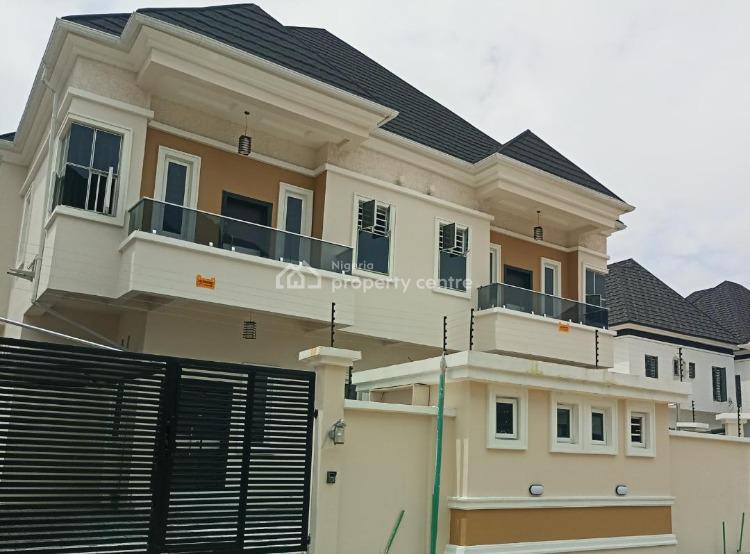 Exquisitely Finished 4 Bedroom Fully Detached Duplex with Bq, Eli Court Lekki, Lekki Phase 1, Lekki, Lagos, Detached Duplex for Sale