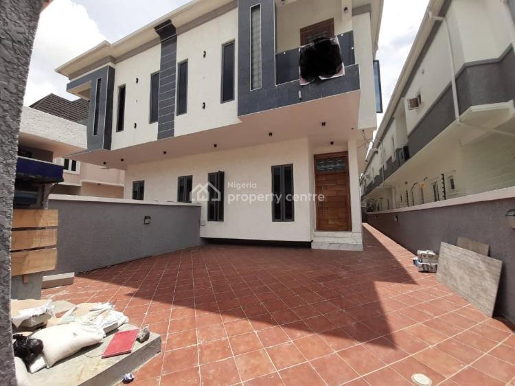 Tastefully Finished, Well Built 4 Bedroom Semi Detached House, Chevron Alternative Route, Behind Chevron Head Office, Lekki Phase 1, Lekki, Lagos, Semi-detached Duplex for Sale