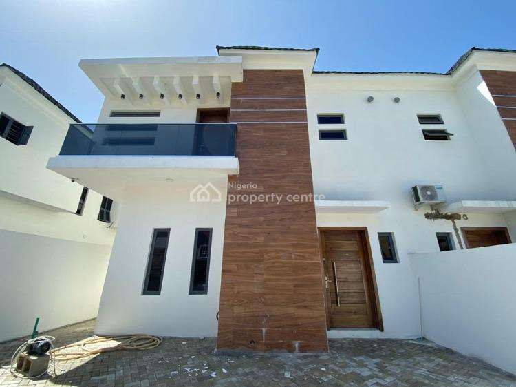 a Brand New 4 Bedroom Semi-detached Duplex with a Room Bq, Idado, Lekki, Lagos, Semi-detached Duplex for Sale