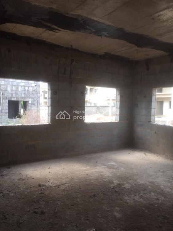 4 Bedrooms Carcass Duplex with a Penthouse and Bq, Apo, Abuja, Detached Duplex for Sale