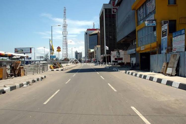 1880 Sqm (commercial Plot), Martins Street, Cash and Carry, Marina, Lagos Island, Lagos, Commercial Land for Sale
