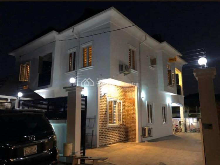 Fully Furnished 5bedroom Fully Detached Duplex with 2rooms Bq, Lagos Business School., Ajah, Lagos, Detached Duplex for Sale