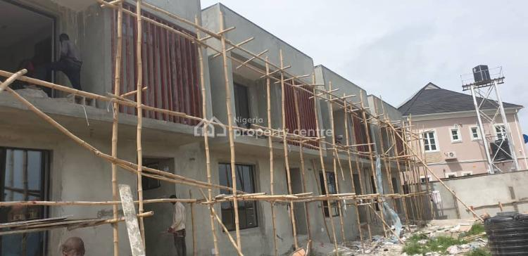 Newly Built Luxury 4 Bedrooms Terrace with 1rm Bq + Spacious Compound, Ajah, Lagos, Terraced Duplex for Sale