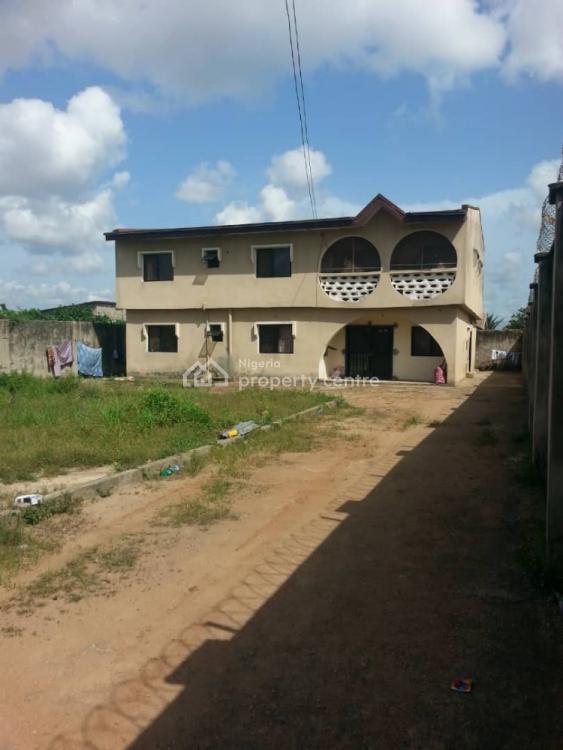 Standard Built 2 Numbers of 3 Bedroom Flat, Abiola Estate,, Ayobo, Lagos, Block of Flats for Sale