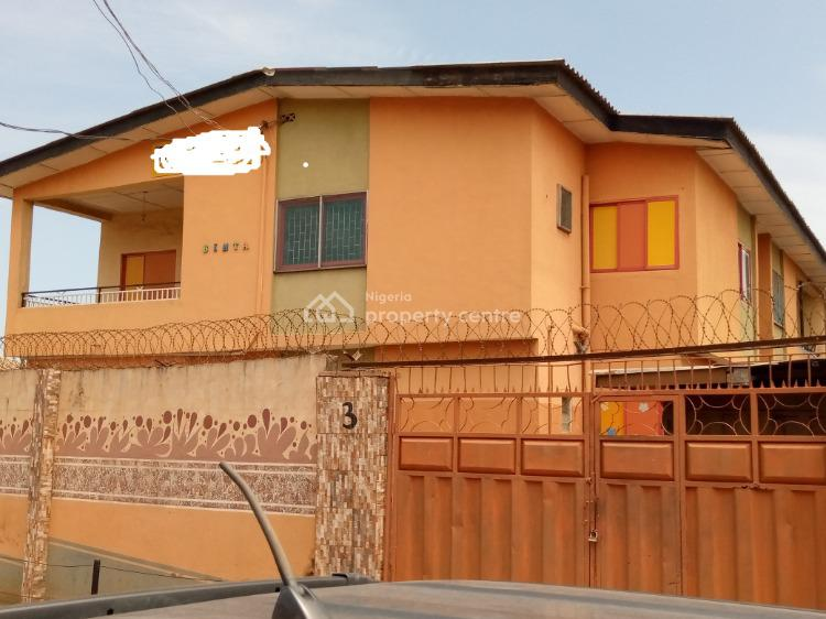 4 Nos 3 Bedroom Flat in a Storey Building, 3b Adewale Adenuga Street, Ejigbo, Lagos, Block of Flats for Sale
