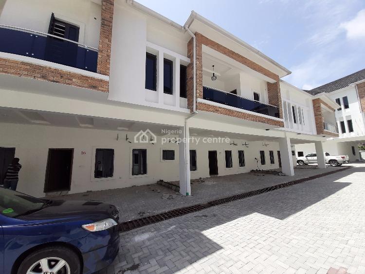 Newly Built 4 Bedroom Terrace, Lekki Conservation Way, Lekki Phase 2, Lekki, Lagos, Terraced Duplex for Sale