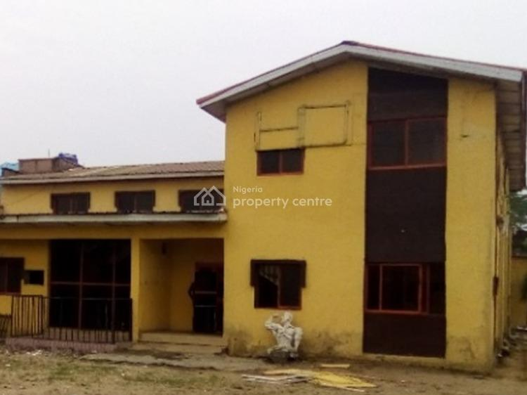 a Commercial Building on Two Floors with 17 Rooms, Igbo Efon, Lekki, Lagos, Office Space for Sale