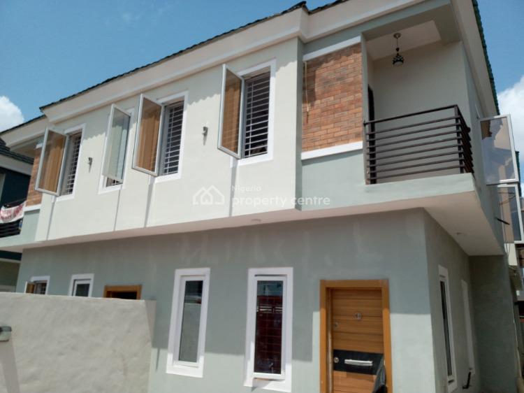 Newly Built, Nicely Finished 4 Bedroom Semi Detached Duplex with Bq, Adeniyi Jones, Ikeja, Lagos, Semi-detached Duplex for Sale