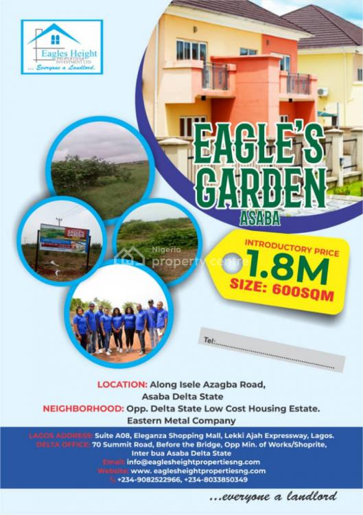 Land in a Beautiful Location with Register Survey & C of O in Process, Oshimili North, Delta, Mixed-use Land for Sale