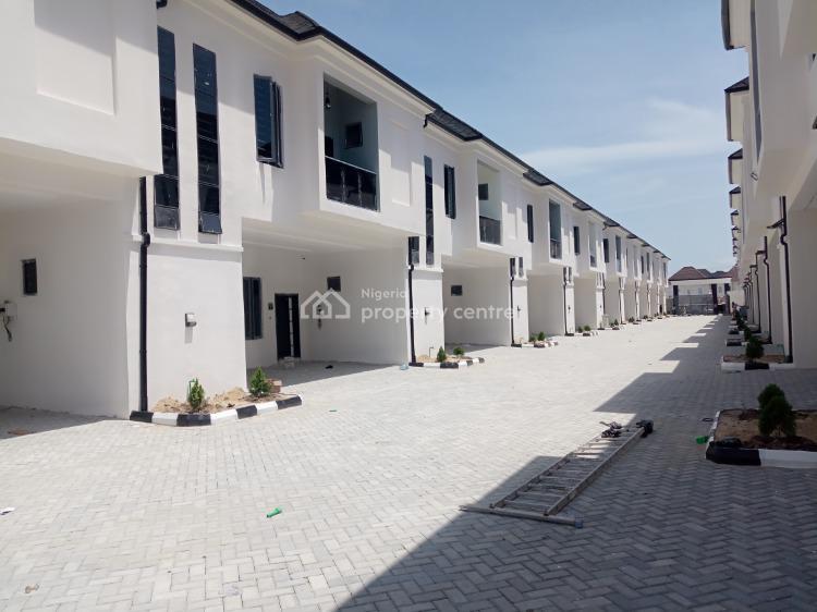 4bedroom Terrace Duplex with Bq, Orchid Hotel Road, Lafiaji, Lekki, Lagos, Terraced Duplex for Sale