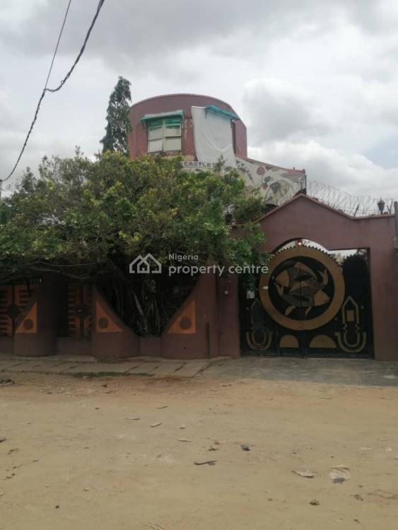 4bedroom Duplex at The Front, 1unit of 3bedroom and 2units of 2bedroom, Bariga, Shomolu, Lagos, Block of Flats for Sale
