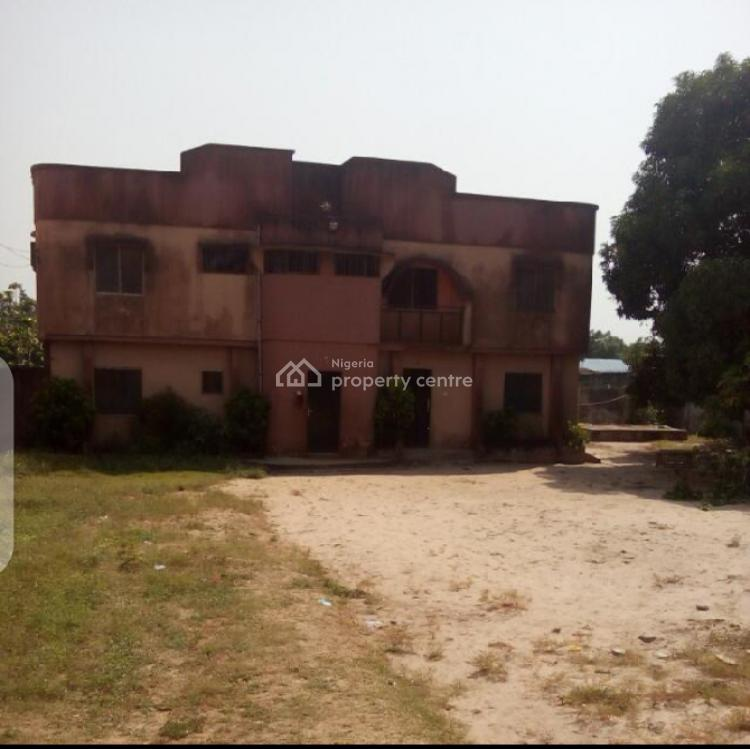a Fenced 3 Plots of Land with a Building on It, Adaloko Street., Ajagbandi, Ojo, Lagos, Mixed-use Land for Sale
