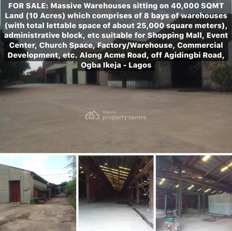 Warehouse, for All Kind of Use, Agidingbi, Ikeja, Lagos, Warehouse for Sale