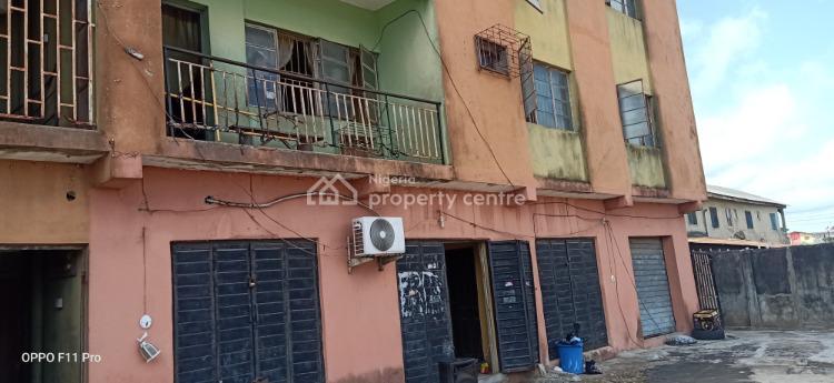 a Block of 6 Flat with 6 Shops on a Cornerpiece Plot, Ikunmu Street Sabo - Oniba, Alaba, Ojo, Lagos, Block of Flats for Sale
