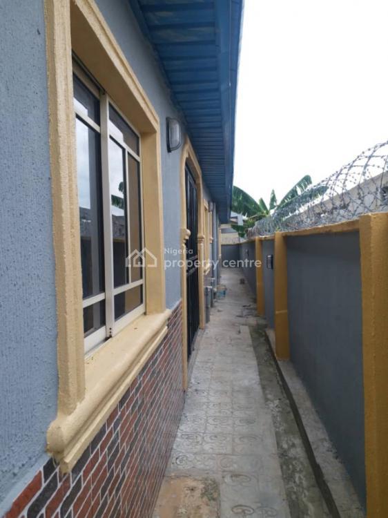Virgin 2 Bedroom Flat, Owolabi Street Off Elenu Junction, Igbogbo, Ikorodu, Lagos, Flat for Rent