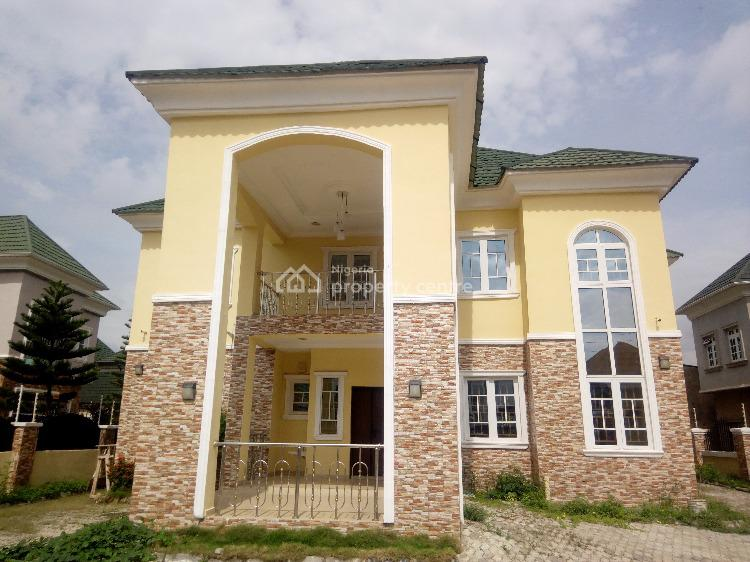 New Six Bedrooms Fully Detached Dupex with Bq in an Estate, Katampe (main), Katampe, Abuja, Detached Duplex for Rent