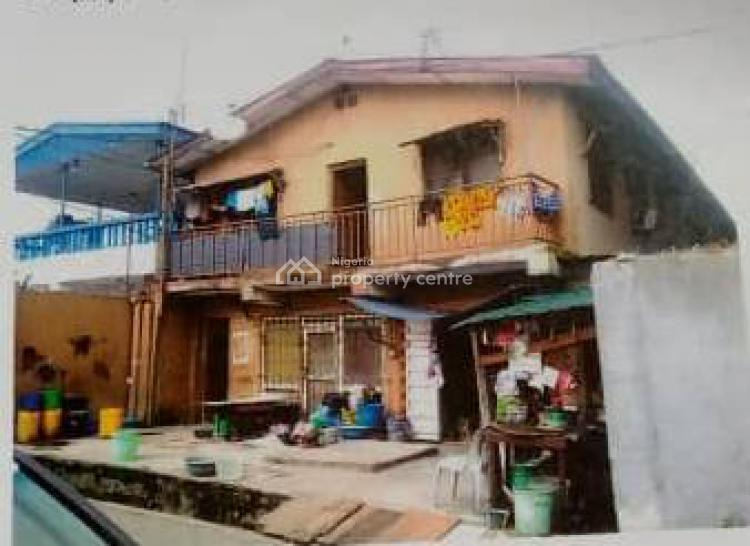 Tenement Building on Two Floor, Fagbile Street, Off Clegg Street (fire Service Side), Ojuelegba, Surulere, Lagos, House for Sale
