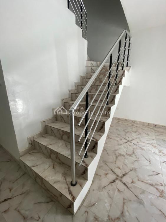 Newly Built 4 Bedroom Terrace Duplex with B.q, By Lekki 2nd Toll Gate, Lekki, Lagos, Terraced Duplex for Sale